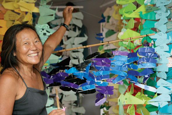 Peggy Oki Peggy Oki Origami Whales Project Coordinator