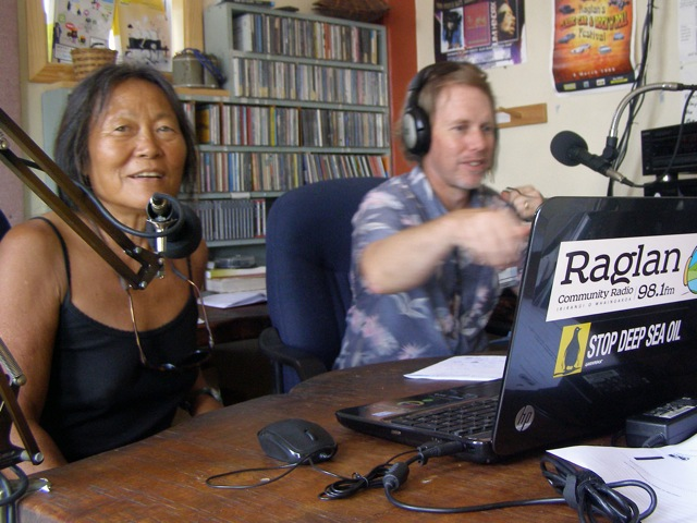Interview on Raglan Radio with Peggy Oki