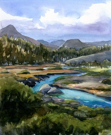 Tuolumne Meadows to DAFF