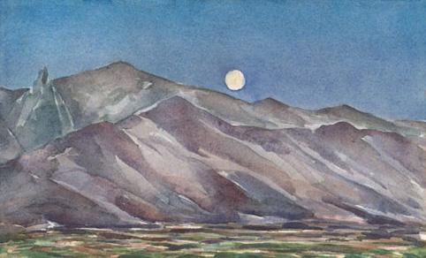 Sierra Moonrise