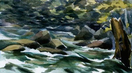 Green Water Falls
