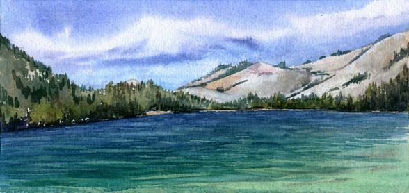 Tenaya Lake (Yosemite Nat'l Park)