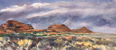 Wash at the Entrance (Canyonlands, UT)