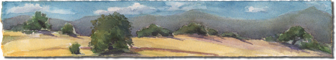 Cow Pasture Panorama (San Marcos Foothills)