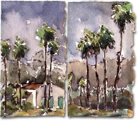 Chase Palm Park (dyptich)