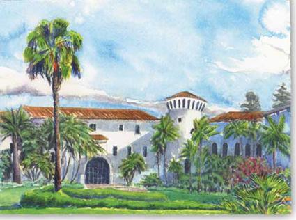 Sunken Gardens (Santa Barbara Courthouse)