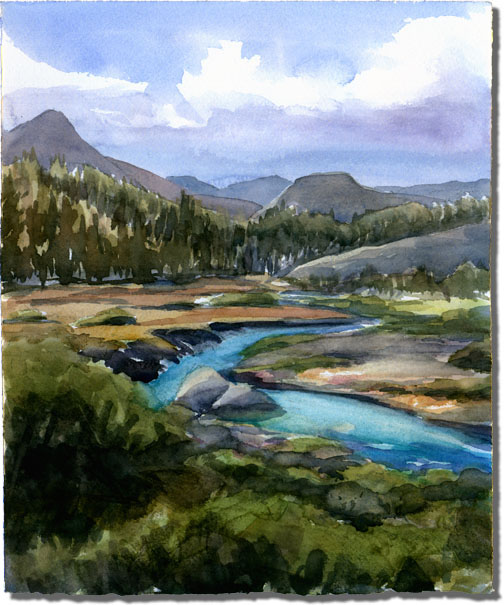 Tuolumne Meadows to DAFF (Yosemite National Park)
