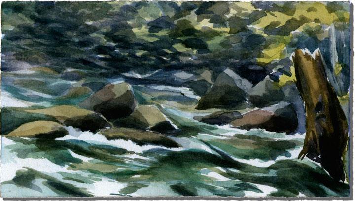 Green Waters  (Yosemite National Park)
