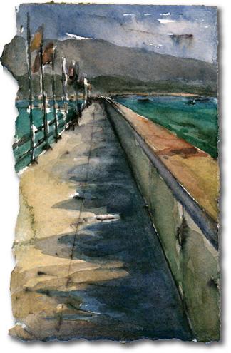Breakwall (Santa Barbara Harbor)