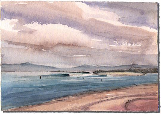 Sandspit (at the Santa Barbara Harbor)
