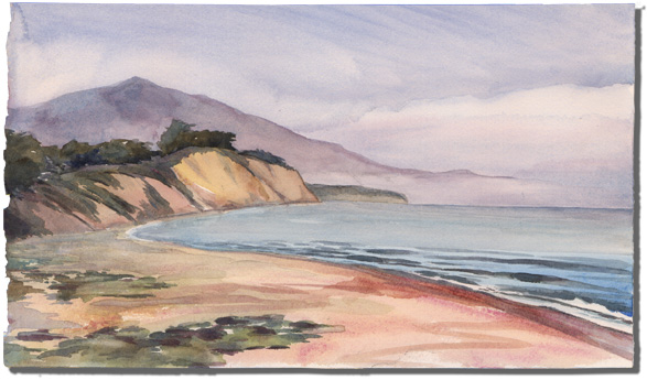 Loon Point (from Summerland Beach)