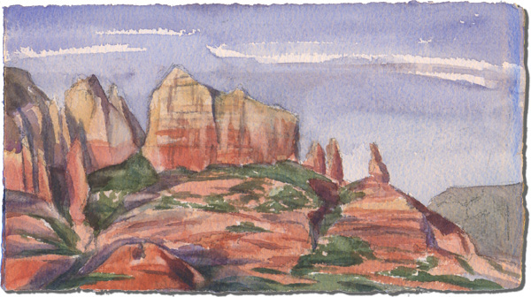 Sedona (View from the skatepark)
