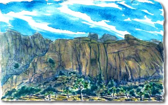 Hemmingway Buttress (Joshua Tree National Park)
