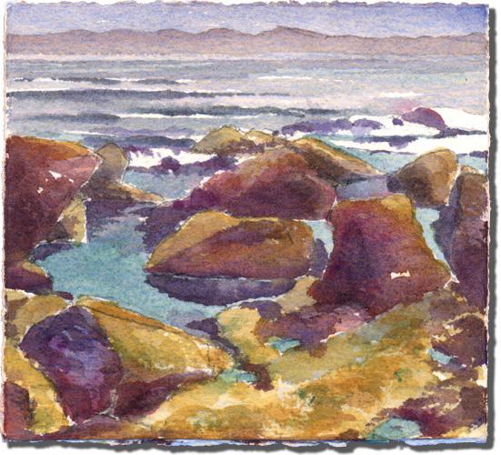 Whale Bay Rocks